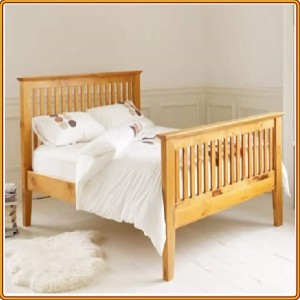 Snuggle - Oak : Giường Nan Dọc - Double Bed