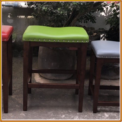 Saddle - H 61cm - Green : Ghế Quầy Bar