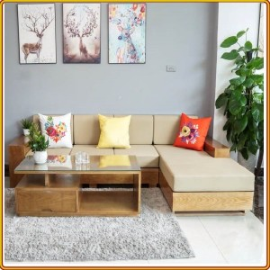 Shaped L02 - Oak : Bộ Sofa Góc L - 2m3