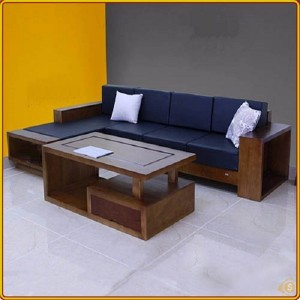 Shaped L02 - Walnut : Bộ Sofa Góc L - 2m3