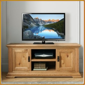 French Oak : TV 120cm - Kệ Ti Vi , CD + 2 Cánh Gỗ