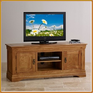French Oak : TV 150cm - Kệ Ti Vi , CD + 2 Cánh Gỗ
