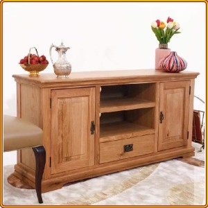 French Oak : TV 180cm - Kệ Ti Vi , CD + 2 Cánh Gỗ
