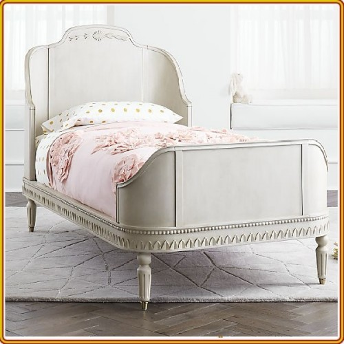 YC07 - 071 : Giường Ngủ Twin Size - Gustavian