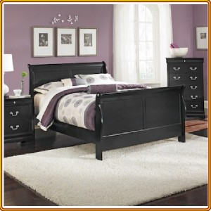 Classic Black : Giường Ngủ Queen Size