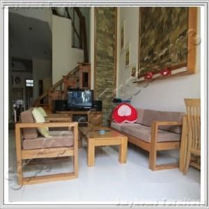 Oak - Natural : Ghế Đơn Sofa - 1 Chổ ( Nệm Ghế Màu Cafe )