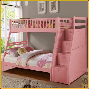 BS192 - Pink : Giường 2 Tầng - 1m4